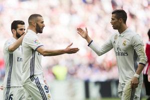 Роналду заступився за Бензема перед уболівальниками Реалу