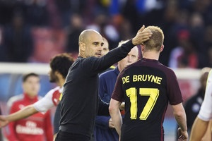 Гвардиола: Де Брюйне играет на уровне претендента на Золотой мяч