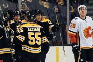 НХЛ: Калгарі поступився Бостону, Піттсбург обіграв Оттаву