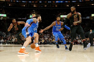НБА Клівленд переграв Оклахому, Х юстон сильніший за Міннесоту