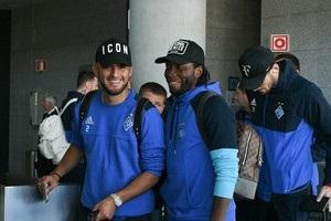 Динамо прибыло в Афины на матч Лиги Европы