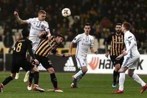 Динамо не удержало победу над АЕКом