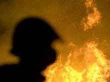 В центре Тбилиси полностью сгорел пассажирский автобус