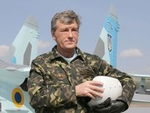 Ющенко доказал врачам, что он абсолютно здоров