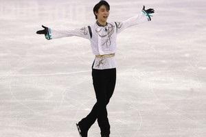 Фигурист Ханю стал двукратным олимпийским чемпионом