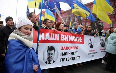 Прихильники Саакашвілі проводять марш у Києві
