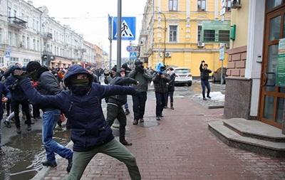 В Киеве разбили окна в Россотрудничестве