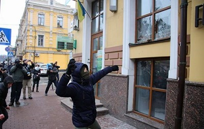Полиция расследует погромы в центре Киева
