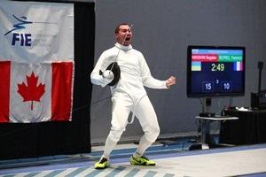 Украинский шпажист Никишин взял первое золото в сезоне