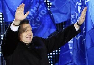 Свыше 80% жителей Енакиево поддержали Януковича