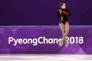 Фігурне катання: Хниченкова невдало виступила на Олімпіаді