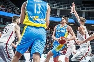 Українські баскетболісти обіграли Латвію у відборі на чемпіонат світу