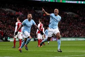 Манчестер Сити завоевал Кубок Футбольной Лиги