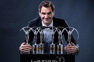 Роджер Федерер и Серена Уильямс признаны спортсменами года по версии академии Laureus