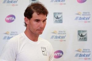Надаль знявся з турніру в Акапулько через травму