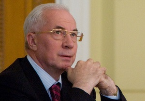 Азаров поздравил украинцев: В новый год Украина вступила более сильной