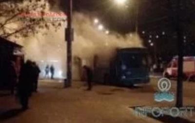 В Одессе взорвался троллейбус с пассажирами