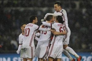 Милан впервые с 2009 года не проиграл в 13 матчах подряд