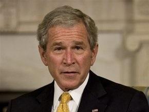 Буш признался, что потерял из-за кризиса часть личных средств