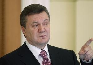 Янукович предлагает назначать судей без обсуждения в Верховной Раде