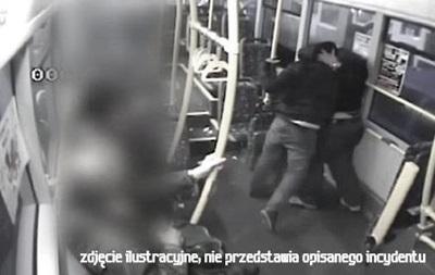 В Польше украинца избили в трамвае