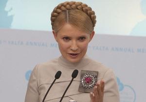 Тимошенко ощущает себя в оппозиции к власти