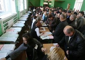 Выборы в Днепропетровский облсовет: ПР получила 40% голосов избирателей