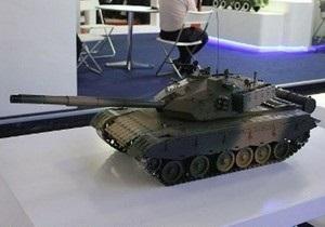 В Китае продемонстрировали модель нового основного боевого танка
