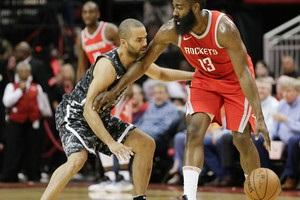 НБА: Хьюстон выиграл у Сан-Антонио, Оклахома вырвала победу у Сакраменто