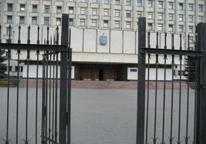 БЮТ: Нардепы от ПР остаются на ночь в здании ЦИК