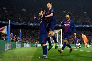 Игроки Барселоны нанесли меньше всех ударов в 1/8 финала Лиги чемпионов