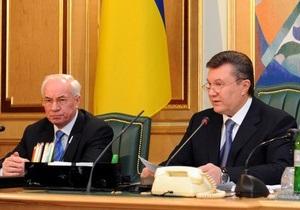 Янукович: Мы решили, что Азаров должен пахать