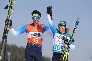 Украинские биатлонисты завоевали три медали на Паралимпиаде