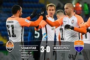 Шахтер – Мариуполь 3:0 видео голов и обзор матча