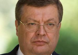 Грищенко исключает свою добровольную отставку