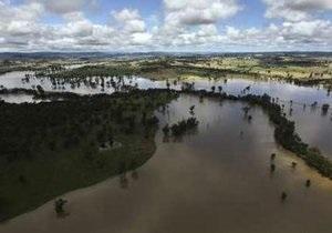 В Австралии наводнение вызвало нашествие крокодилов