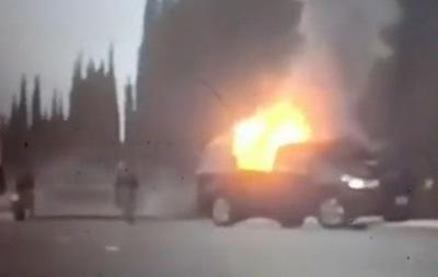 На военной авиабазе США смертник подорвал авто