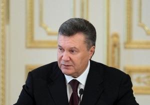 Янукович рассказал, каким должен быть новый закон о выборах депутатов