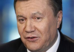 Янукович: Спасибо Господу Богу