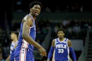 Данк Эмбиида – момент дня в НБА