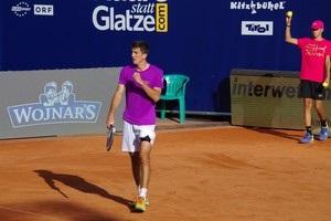 Австрийский теннисист проиграл встречу, выбив мяч за пределы корта на матчболе соперника