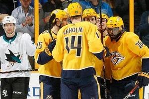 НХЛ: Нешвілл обіграв Сан-Хосе, Тампа поступилася Бостону