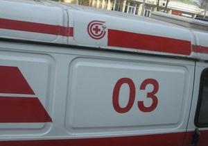 В Киеве на пешеходном переходе водитель Skoda сбил четверых школьников