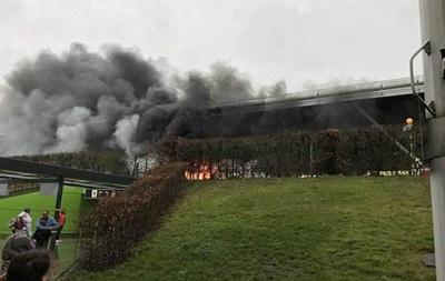 Лондонский аэропорт эвакуировали из-за пожара