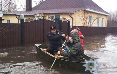 В Сумской области паводок затопил половину Ахтырки