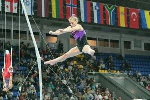 Украинские гимнасты завоевали медали на Кубке Стеллы Захаровой