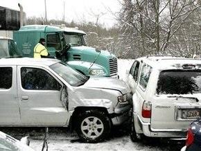 В США столкнулись 40 машин: двое погибших
