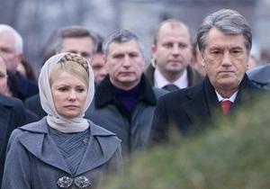 НГ: Стрелки в деле Тимошенко переводятся на Ющенко