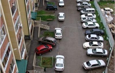 В Украине запретят планирование парковок внутри жилых кварталов