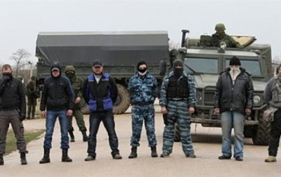 На границе Крыма задержан активист  русской весны